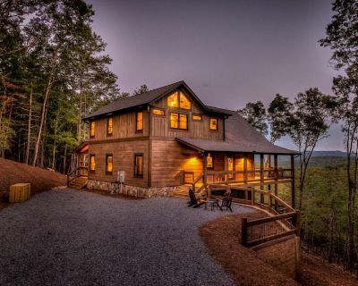 Skyview - Mountain View | Hot Tub | Outdoor Fireplace | Fire pit | Pool Table - Aska