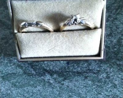 Engagement and wedding rings 700,00 OBO
