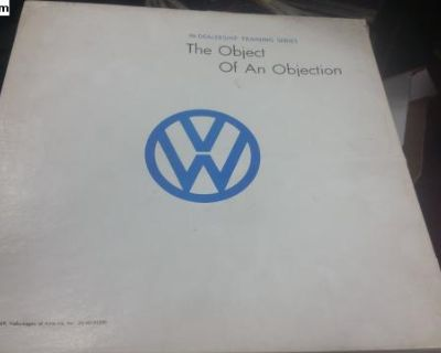 Late 60's early 70 dealership training materials