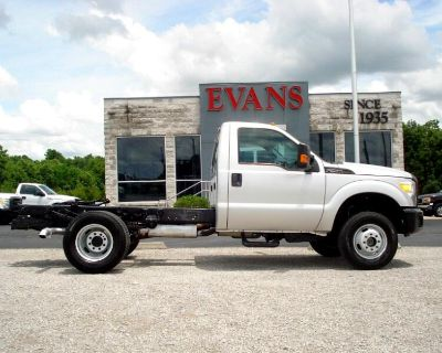 2012 Ford F-350 SD F-350 DUALLY 4X4 REGULAR CAB LONG BED 1-TON