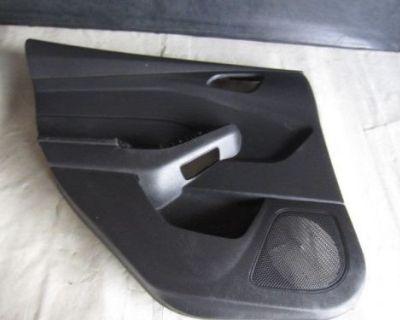 2012 - 2015 Ford Focus Rear Driver Side Door Panel Black
