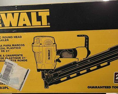 Brand new in box DeWalt framing nailer