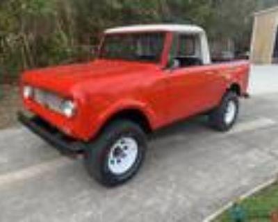 1968 International Harvester Scout 800 V8