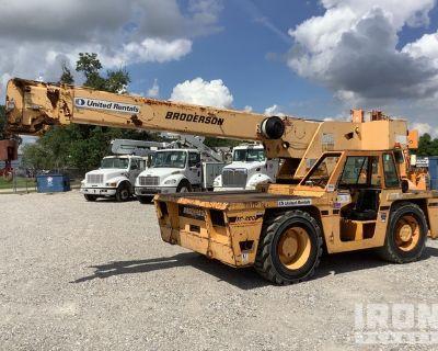 2006 (unverified) Broderson IC-200-2F 15 ton 4x4 Carry Deck Crane