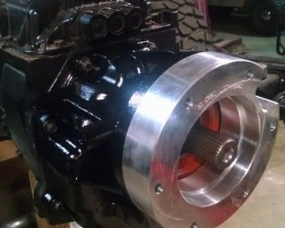 Chevy NV4500 rebuilt with Dodge output housings Atlas etc Set up for a LS swap...