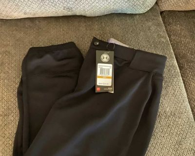 UNDER ARMOUR WOMENS SOFTBALL PANTS NEW WITH TAGS