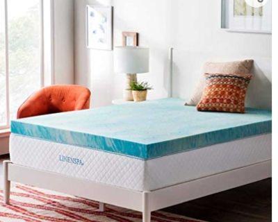 4 in queen memory foam mattress topper