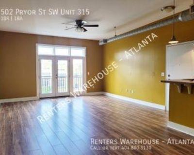 502 Pryor St Sw Unit 315 #Unit 315, Atlanta, GA 30312 1 Bedroom Condo