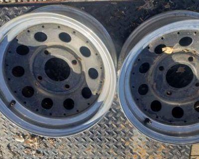 14x6 Pair Of Wheels-rims