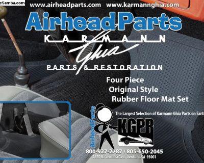 Karmann Ghia Rubber Floor Mat Set