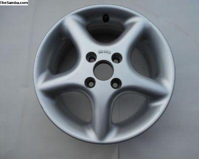 Borbet wheel 4 x 100 bolt pattern ONE LEFT!