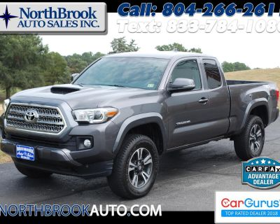 Used 2017 Toyota Tacoma TRD Sport Access Cab 6' Bed V6 4x4 MT (Natl)