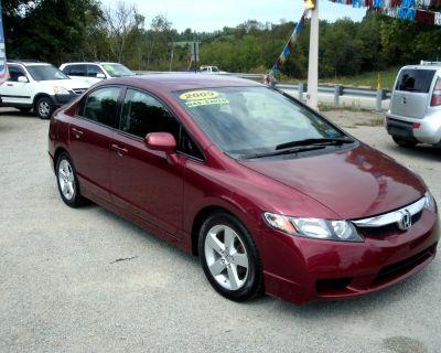 2009 Honda Civic Four Door Lx sport AT
