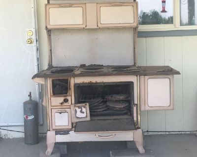 Wood burning oven for kitchen