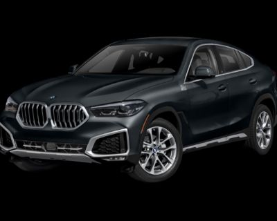 New 2022 BMW X6 M50i Sports Activity Coupe AWD