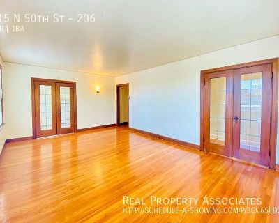 Large 2 Bedroom in Beautiful Historic Building! Tons of Storage Space!