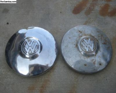 66-67 Bug or Ghia Bubble Center Hubcaps