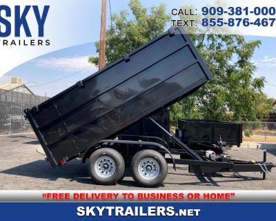 2021 Sky Trailers Dump Trailer DT8X12X4