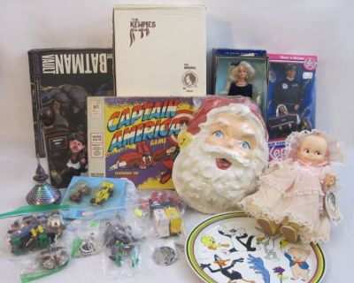 September 27th Vintage Jewelry, Comics, Figures, & More Online Auction