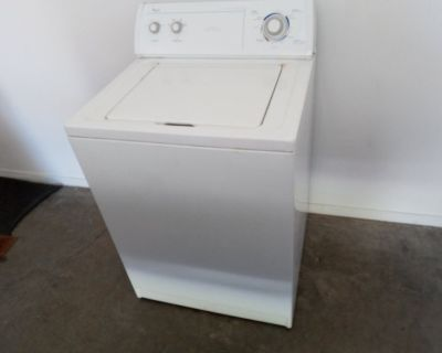WORKING WHIRLPOOL WASHER - Super Capacity Commercial Quality Washer!