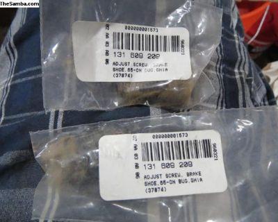 Brake Shoe Adjustment Screw Bug 65-79