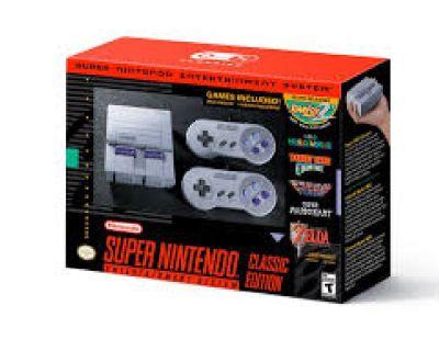 Have (2) Nintendo Super NES Mini