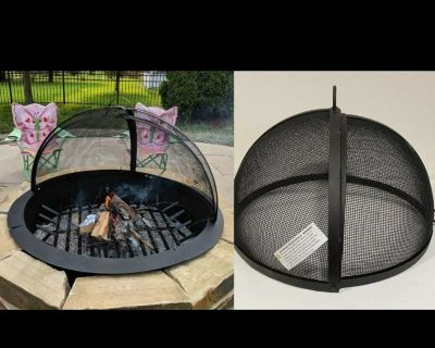 """20"""" Fire Pit Spark Screen"""