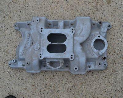 Offenhauser 4-bbl. Aluminum Intake Manifold - 1968 To 1991 Mopar 340 360