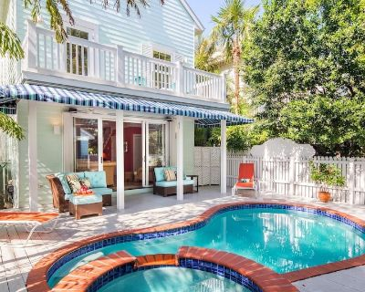 **VIVA MARGARITA! @ OLD TOWN** Large Home & Pool Near Duval + LAST KEY SERVICES. - Key West Historic District