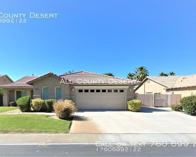 Spacious 3BR/2BA Unfurnished Home Available foe Long Term Lease in the Monticello II Community of Indio