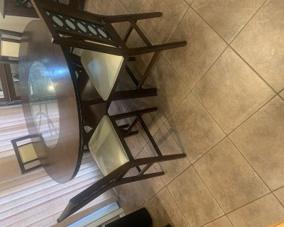 Kitchen dining room table and buffet