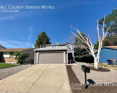 Adorable and Updated! 4 bedroom and 2.5 bath home in a great Arvada location!