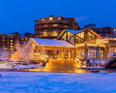 Luxury Studio!! Gym, Pool, Sauna, Spa, Canyons Gondola Ski In/Out - Park City