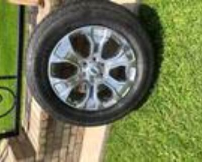 4 2021 Ford F-150 20- oem rims and Hankook tires