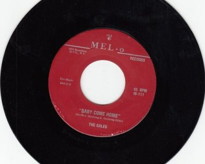 GALES ~ Baby Come Home*Mint-45 !