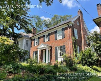 Elegant Embassy Row Single Family Home for Rent W/Views of the Cathedral, Private Patio/Gardens, Detached Garage, & More!