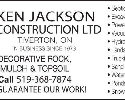 KEN JACKSON CONSTRUCTION LTD...