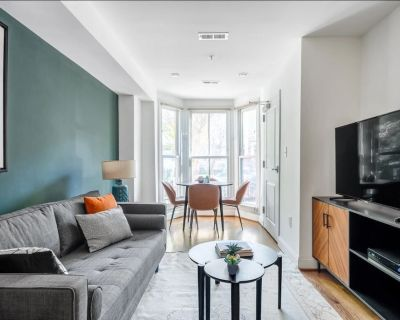 Economical and Well-Appointed 2 Bedroom, 2 Bath Apartment in Dupont Circle. - Dupont Circle