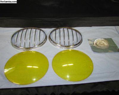 Brazilian VW Bus Headlight Accessory Stone Guard