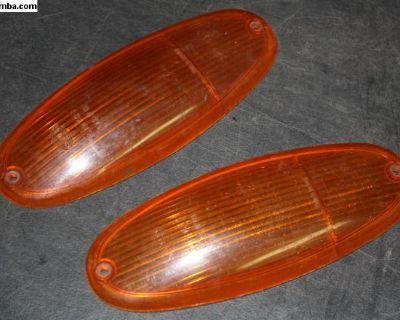 69 - 76 Porsche Amber Headlight Lens 914