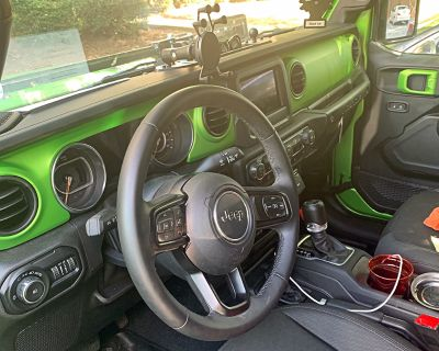 Mojito Green Interior Trim Mod - Installed