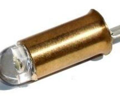 Porsche Led Instrument Light Bulb 6v (single Filament) 356/356a/356b/356c 50-65