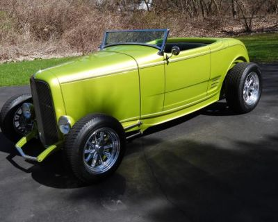 1932 Ford Roadster 2-door All-Steel Chopped Convertible Restored V8-8