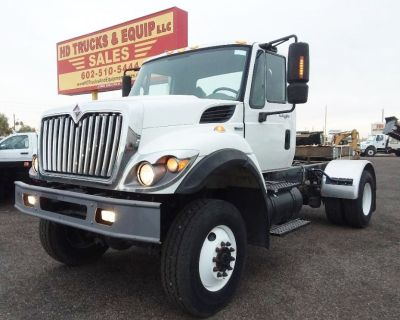 2009 International 7400 *4x4* Cab and Chassis