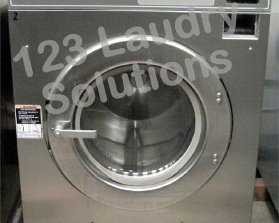 Huebsch Front Load Washer 208-240v Stainless Steel HC40MY2OU60001 Used