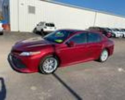 2018 Toyota Camry Red, 38K miles