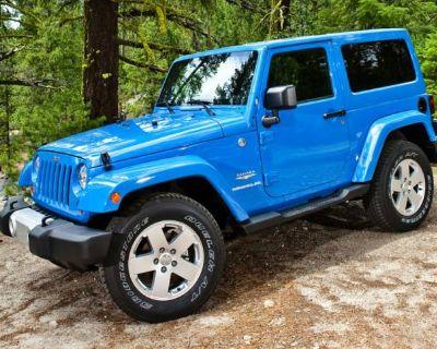 2014 Jeep Wrangler Sahara
