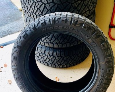 4 Nitto Ridge Grappler Tires
