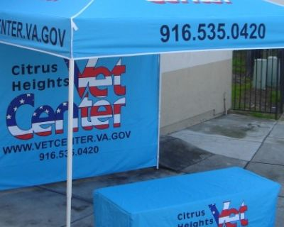 Printed Vendor Tents & Table Covers