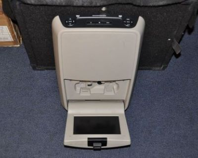 Oem Durango 2004-05 Dodge Chrysler Overhead Dvd Player & Monitor Display